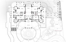 square floor plans for homes floor plans to the 60 000 square foot le palais royal oceanfront