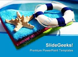 summer fun holidays powerpoint templates and powerpoint