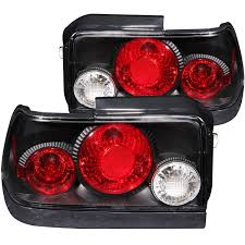 toyota usa customer service anzo usa toyota corolla 93 97 tail lights black euro tail