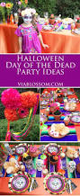 halloween fun party ideas day of the dead party ideas and decorations on the via blossom