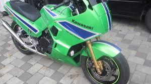 kawasaki ninja gpx750r 1989 ride to angola youtube
