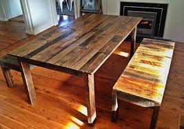 kitchen table ideas kitchen table made from pallets arminbachmann