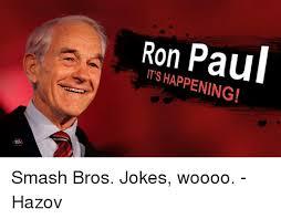Ron Paul Memes - 25 best memes about smash bros jokes smash bros jokes memes