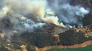 Lake Berryessa Fire Burns 4 000 Acres Near Lake Berryessa Abc30 Com