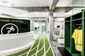 game changer onefootball u0027s berlin hq by tkez architecture