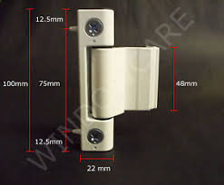 Patio Door Hinges White Upvc Patio Door Hinge Rebated Hinge Ebay