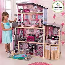 charming kidkraft majestic mansion dollhouse with furniture