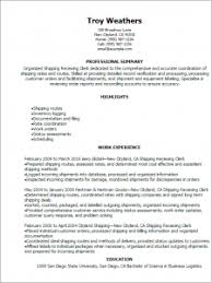 Receiving Clerk Resume Sample Smartness Inspiration Shipping And Receiving Resume 2 Professional