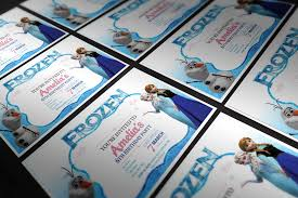 frozen party invites and other frozen party bits kids home