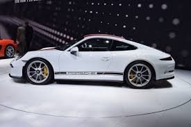 porsche r 2017 porsche 911 r proof stripes go with everything