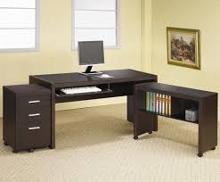 Dark Wood Computer Desk Amusing Desk For Small Space Ideas Home Furniture Segomego Home