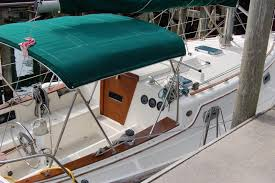 Sailboat Sun Awnings Do You Have A Great Cockpit Awning Sailboatowners Com Forums