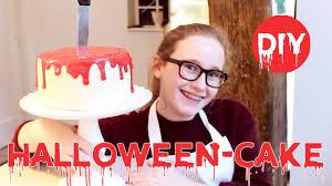 halloween torte bloody halloween cake diy youtube