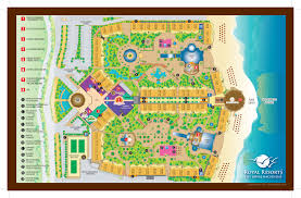 Cancun Mexico Map by The Royal Haciendas All Inclusive Riviera Maya