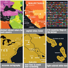 travel tracker images Scratch off world map jpg