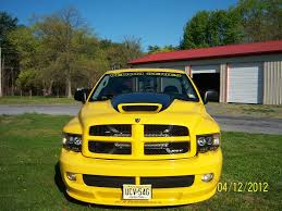 Dodge Ram Yellow - jts venom hood dodge ram srt 10 forum