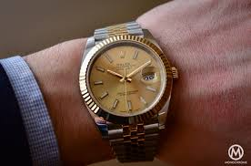 gold rolex oyster bracelet images Full review the new rolex datejust 41 from baselworld 2016 with jpg