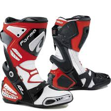sport bike motorcycle boots forma ice pro black red white motorcycle motorbike sports bike