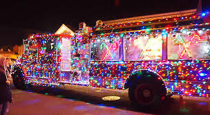 Fire Trucks Decorated For Christmas West Cape May Christmas Parade 2012 What A Fire Truck Beaches