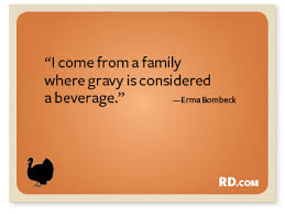 10 silly thanksgiving quotes to