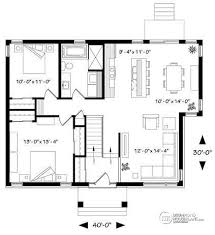 split entry floor plans house plan w3152 bh detail from drummondhouseplans