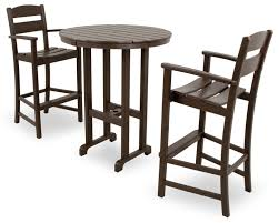 Bar Height Patio Dining Set by Amazon Com Ivy Terrace Ivs111 1 Ma Classics 3 Piece Bar Set