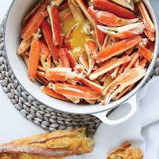 cuisiner crabe crabe chaud au beurre ricardo