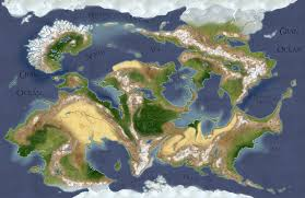 Huge World Map by The Salvation Of Madame Alabaster A Huge Adventure Rp