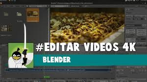 tutorial video editing blender 4k video editing edição de video blender tutorials