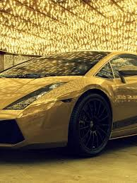 golden lamborghini 768x1024 gold lamborghini ipad wallpaper