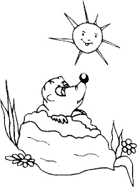 photos groundhog activities coloring pages groundhog