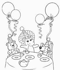 birthday coloring pages kids free printable coloring sheets