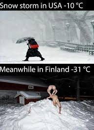 Suomi Memes - snow storm in usa vs finland picture of the day pinterest