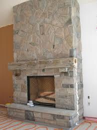 custom fireplace with muskoka granite stone rick minnings loversiq