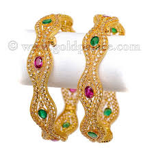 gold bangle bracelet sets images All type of 22 k gold bangles categorized jpg