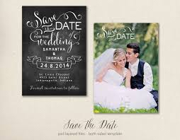 save the date template save the date card template 5x7 objects creative market