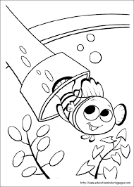 coloring pages kids finding nemo coloring pages