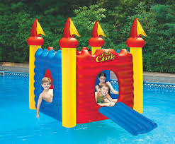 cool castle floating habitat pool toy by swimline poolstore com