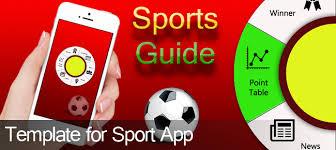 comprar guia sports template app sports para ios chupamobile com