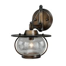 Vaxcel Nautical Lighting by Vaxcel W0017 Jamestown 1 Light Vanity Sconce Lighting Universe