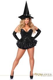 plus size costumes plus size halloween costumes cheap plus size top drawer plus size premium sequin witch corset dress costume