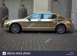 gold bentley mulsanne bentley continental flying spur stock photos u0026 bentley continental