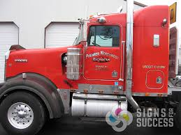 semi truck semi truck lettering signs for success