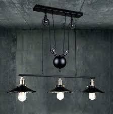pulley pendant light fixtures industrial pulley light epicsafuelservices com