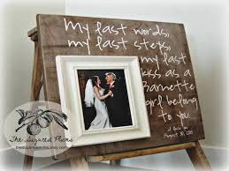 wedding gift ideas from parents of the gift of the frame