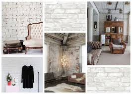 Small Home Design Ideas Video Video White Brick Feature Wall Brewster Wallcovering Blog Exposed