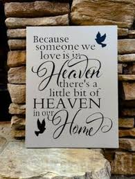 in loving memory personalized gifts 6 x 6 i ll hold you in my heart until i can hold you in heaven