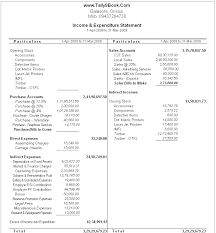 income statement formats multi step income statement format