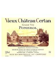 Conservation Vin Rouge Vieux Château Certan Pomerol U2013 Chateau Com