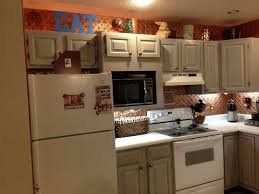 an update on painted kitchen cabinets and counter tops hometalk